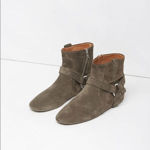 Isabel Marant Raelyn Suede Boots Size 36